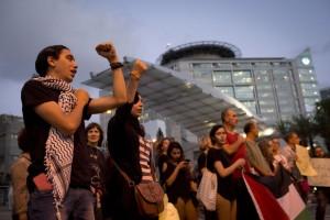 Solidarity with Palestinian prisoners, Ichilov hospital, Tel Av