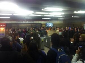 Protesta-Metro