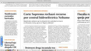 El Mercurio, 5 de septiembre 2014